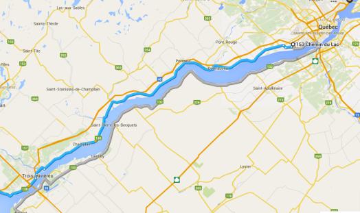 Quebec-Trois Rivieres