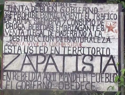 Plakat Zapatistas