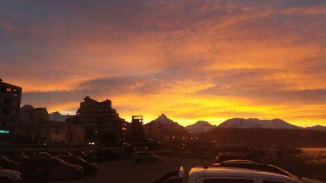 Ushuaia Sonnenaufgang